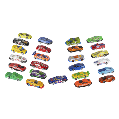 Speedcity 35 Piece Diecast & Accessory Pack
