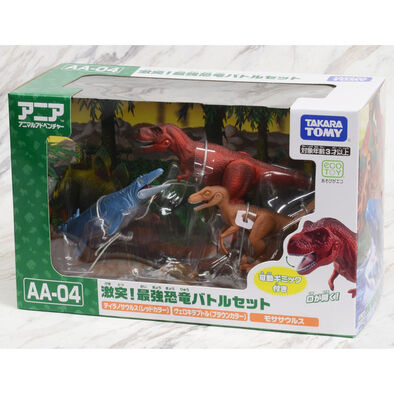 Takara Tomy Ania Dinosaur Battle/Rival Set - Assorted