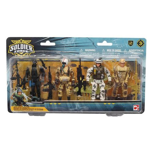 Soldier Force Squad Patrol Figure Set
