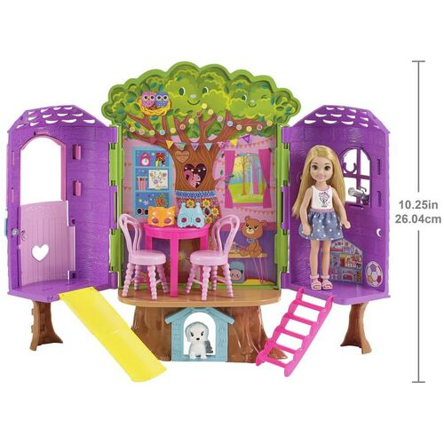 Barbie Club Chelsea Tree House with Doll