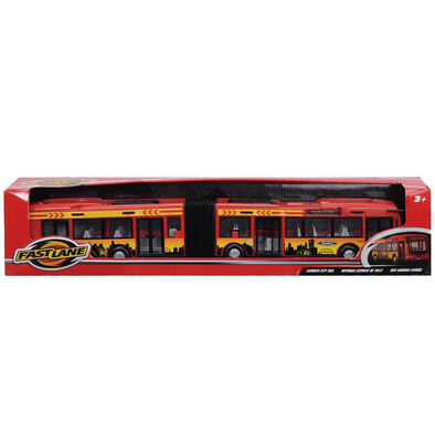 Fast Lane City Express Bus 40Cm - Assorted