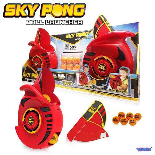 Sky Pong Ball Launcher