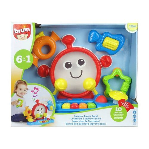 BRU Infant & Preschool Jammin Dance Band