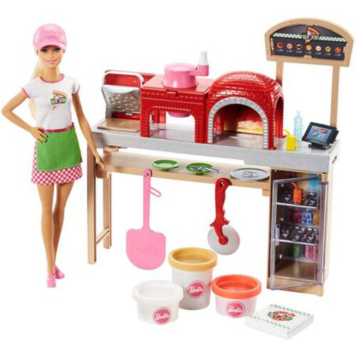 Barbie Pizza Chef Doll Playset
