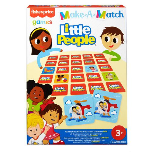 Fisher-Price Make-A-Match Games Assorted