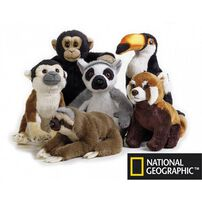 National Geographic Lelly Pelluche Tropical Rainforest Baby - Assorted