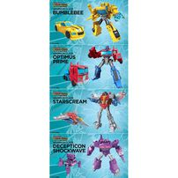 Transformers Cyberverse Power of the Spark Warrior - Assorted