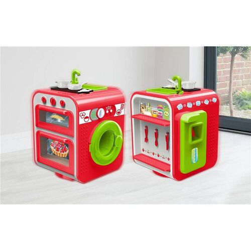 Just Like Home Battery Operated 360 Kitchen Set