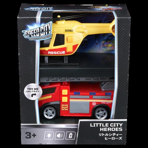 Speed City Little City Heroes