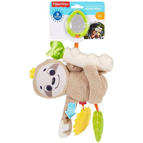 Fisher-Price Slow Much Fun Stroller Sloth