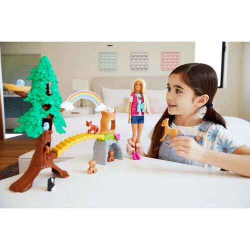 Barbie Wilderness Guide Interactive Playset