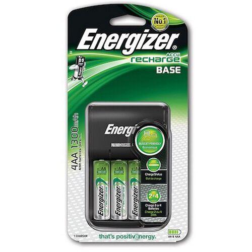 Energizer Base Charger 4X AA (1300 Mah)