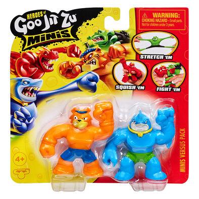 Goo Jit Zu S3 Minis Versus Pack - Assorted