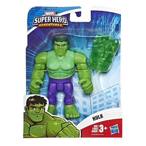 Playskool Marvel Super Hero Adventures Action Figure - Assorted
