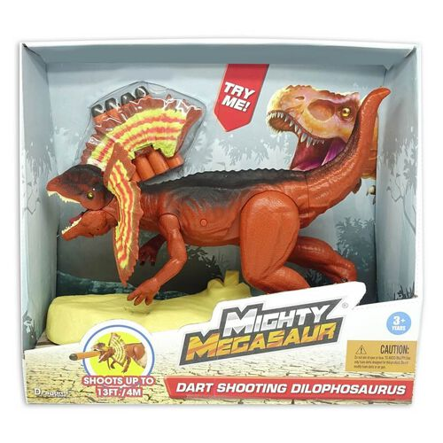 Mighty Megasaur Dart Shooting Dilophosaurus
