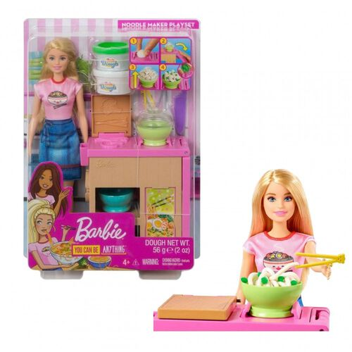Barbie Noodle Maker Doll and Playset