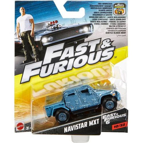 Hot Wheels Fast & Furious Vehicle Singles - Assorted