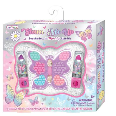 Hot Focus Glam Me Up Tie Dye Butterfly