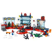 LEGO Marvel Super Heroes Attack on Spider Lair 76175