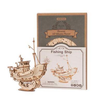 Robotime Fishing Ship