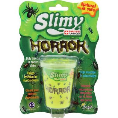 Slimy Swiss Formula Mini Horror Slimy - Assorted