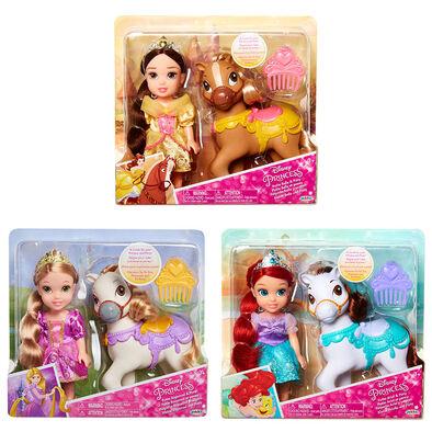 Disney Princess Petite With Pony - Assorted