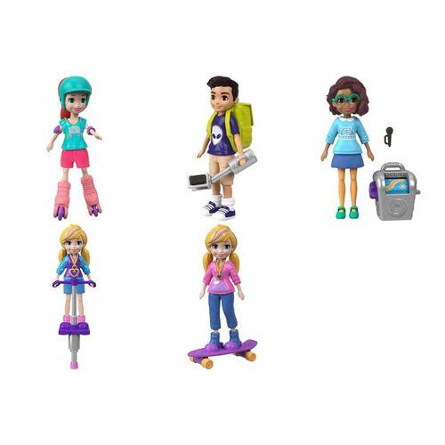 Polly Pocket Go Tiny Active Doll - Assorted
