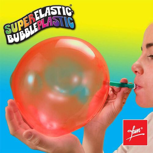 Super Elastic Bubble Plastic