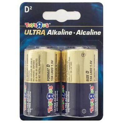 Ultra Alkaline Size D 2'S