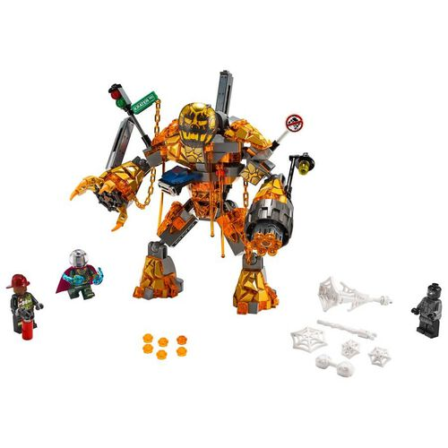LEGO Marvel Spider-Man Far From Home Molten Man Battle 76128