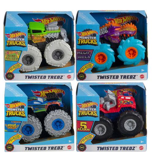 Hot Wheels Monster Truck 1:43 Scale New Rev Tredz - Assorted