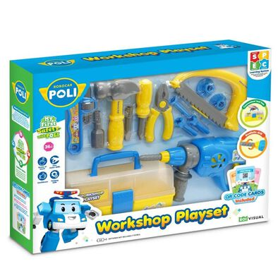 Robocar Poli Workshop Playset