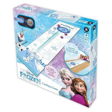 Disney Frozen Curling Game