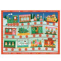 Petit Collage Floor Puzzle Christmas Train