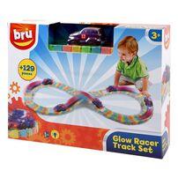 BRU Glow Racer Track Set
