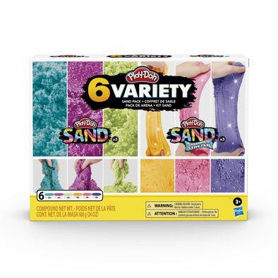 Playdoh Sand Variety Pack