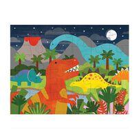 Petit Collage Floor Puzzle Dinosaur Kingdom