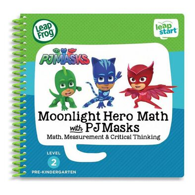 LeapFrog LeapStart Book Moonlight Hero Math With PJ Masks