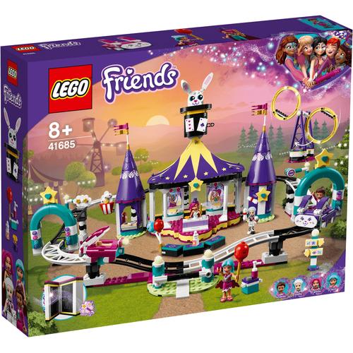 LEGO Friends Magical Funfair Roller Coaster 41685