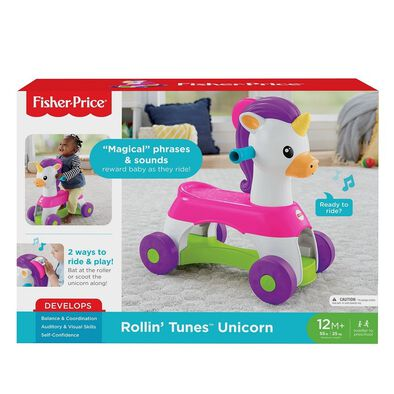 Fisher-Price Infant Rollin Tunes Unicorn