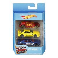 Hot Wheels Basic Car 3 Pack - Assorted