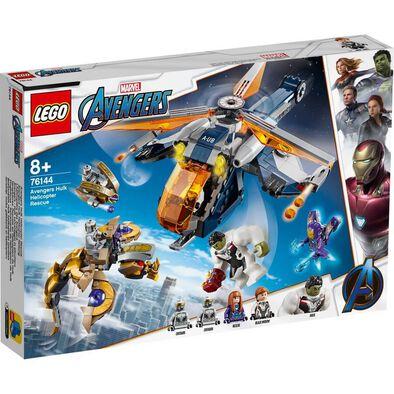 LEGO Marvel Avengers Hulk Helicopter Rescue 76144