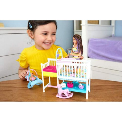 Barbie Babysitter Nursery Playset