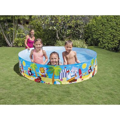 Intex 8ft x 18 Inch Seashore Buddies Snapset Pool