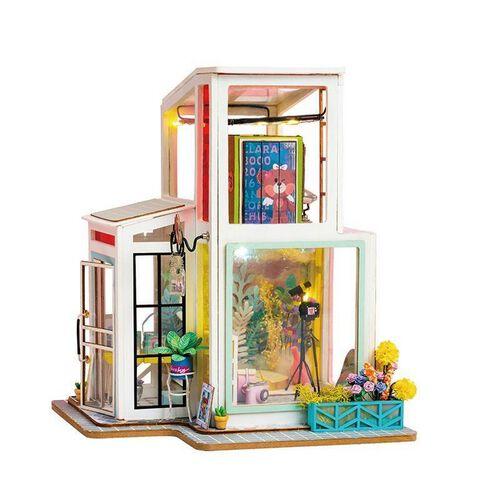 Robotime DIY House Time Studio