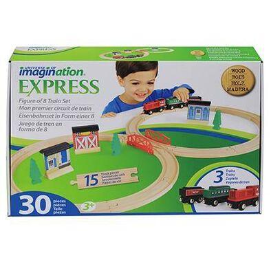 Universe of Imagination Refreshed Figure 8 Train Set 30Pcs
