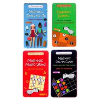 The Purple Cow Magnetic Ideal For Travelling - Assorted
