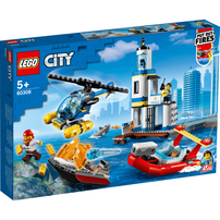 LEGO City Police Seaside Police And Fire Mission 60308