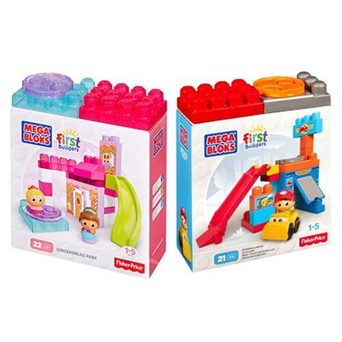 Mega Bloks First Builders Spin 'N Play - Assorted