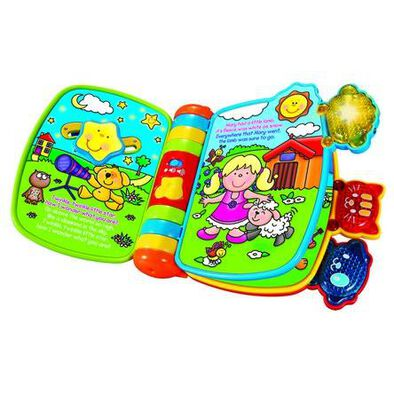 Vtech Rhyme And Discovery Book